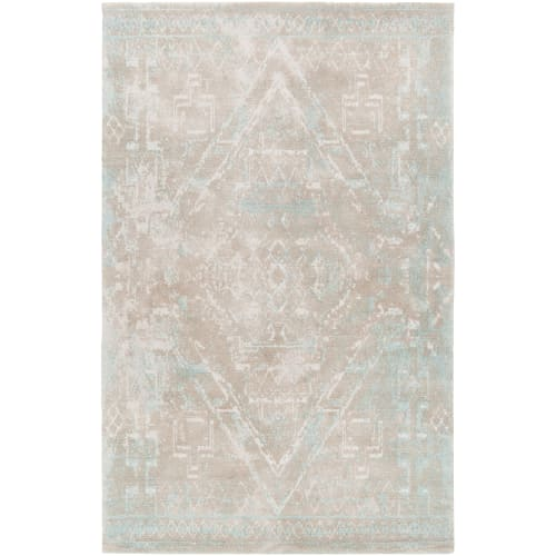 Chandra Rugs TAY424-576 Tayla 5' x 8' Rectangle Wool Hand Tufted Traditional Are