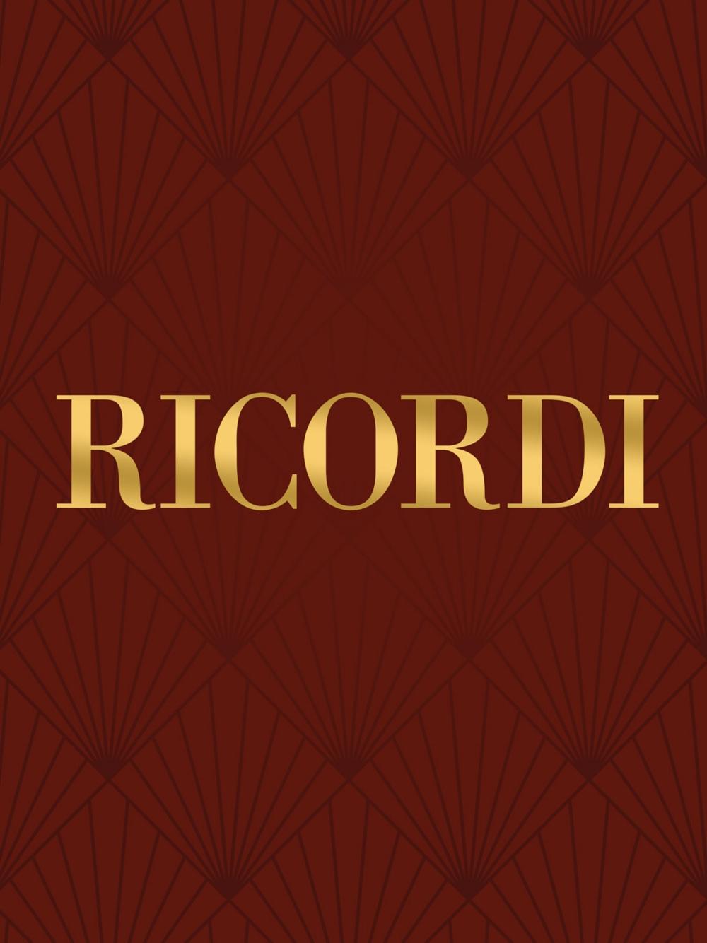 Ricordi Concerto for Clarinet Solo (Carte fiorentine No. 2) Woodwind Series by Valentino... by