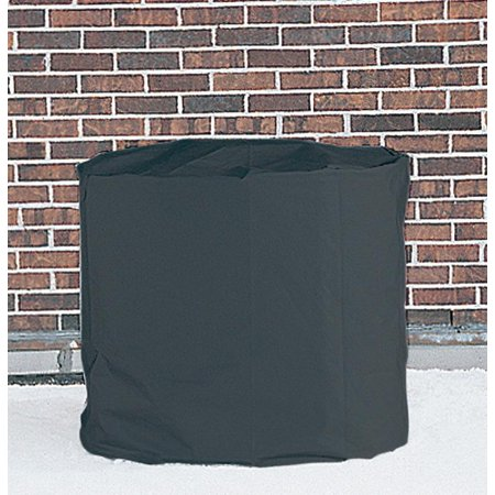 Dennis round central air conditioner cover 14 heavy duty for outdoor protection for Central air conditioner covers exterior