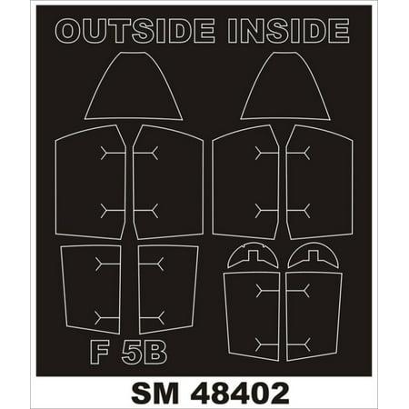 Montex Mini Mask 1:48 F-5 B Freedom Fighter for Kinetic SprayingStencil #SM48402