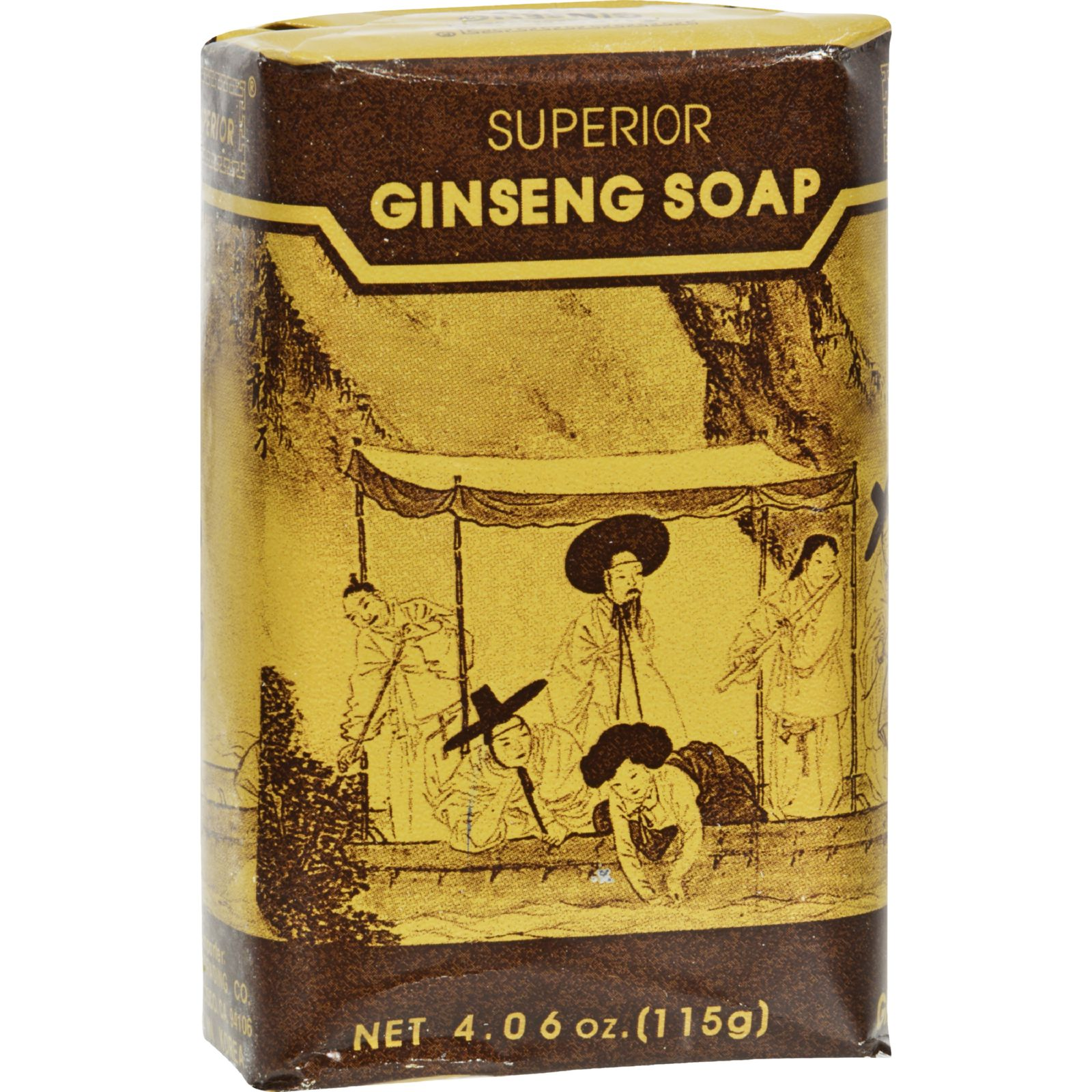 Superior Trading Co. Korean Ginseng Soap - 3 Pack