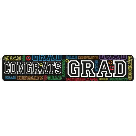 Graduation Party Banner, 4.5 ft, 1ct - Graduation Banner Ideas