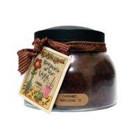 A Cheerful Giver Caramel Macchiato Mama Jar Candle, 22-Ounce