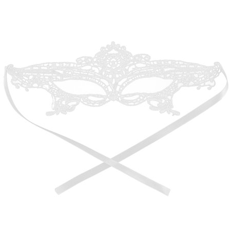Women Sexy Costume Halloween Fancy Ball Party Dress Eyemask Lace Eye Mask White](Ideas For Fancy Dress Halloween Party)