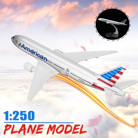 - 16CM Metal Diecast Plane Model Aircraft Boeing Airlines Aeroplane Desktop Toy