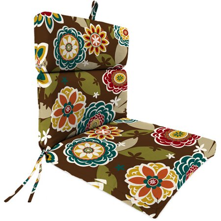 Jordan Manufacturing Outdoor Patio Replacement Chair Cushion Annie Chocolate