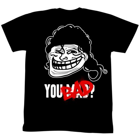 U Mad  You Mad Bro  Meme Gif Trending You Bad Mullet Adult T Shirt