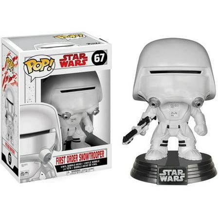 Funko Pop  Star Wars  The Last Jedi   First Order Snowtrooper