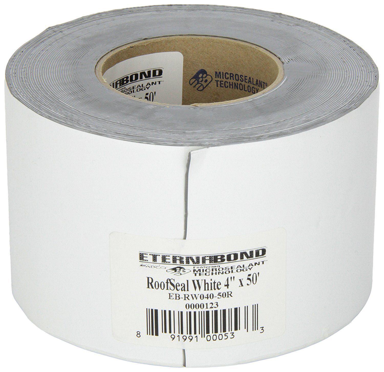 "4"" WHITE Eternabond Roof Leak Repair Tape Patch Seal"