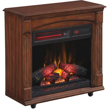 Chimneyfree Electric Infrared Quartz Fireplace With Remote
