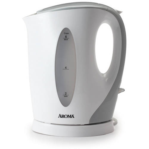 Aroma 1.5 L Electric Kettle, White by Aroma