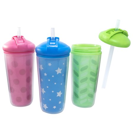Parents Choice Insulated Straw Sippy Cup, 12+ Months, 1 Pack