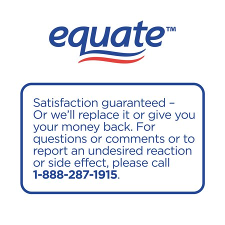 Equate Nighttime Severe Cold, Cough & Flu, Temporarily Relieves Nasal Congestion, Cough, Runny Nose, Sneezing, Body Ache, Sore Throat Pain, Headache, Fever 6-Count
