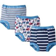 Gerber Toddler Boy's Training Pants, 3-Pack