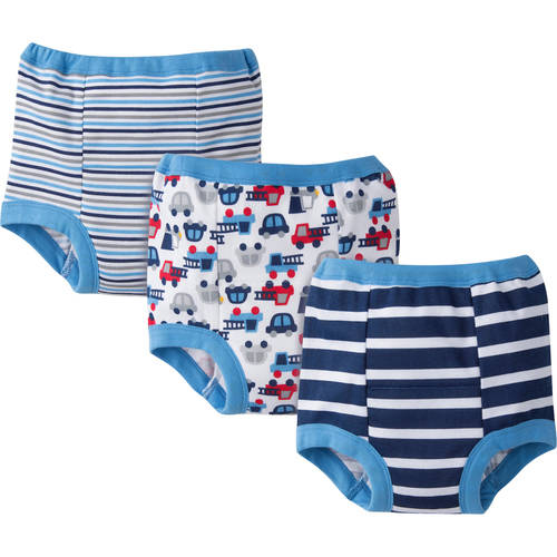 Gerber Toddler Boy's Training Pants, 3-Pack