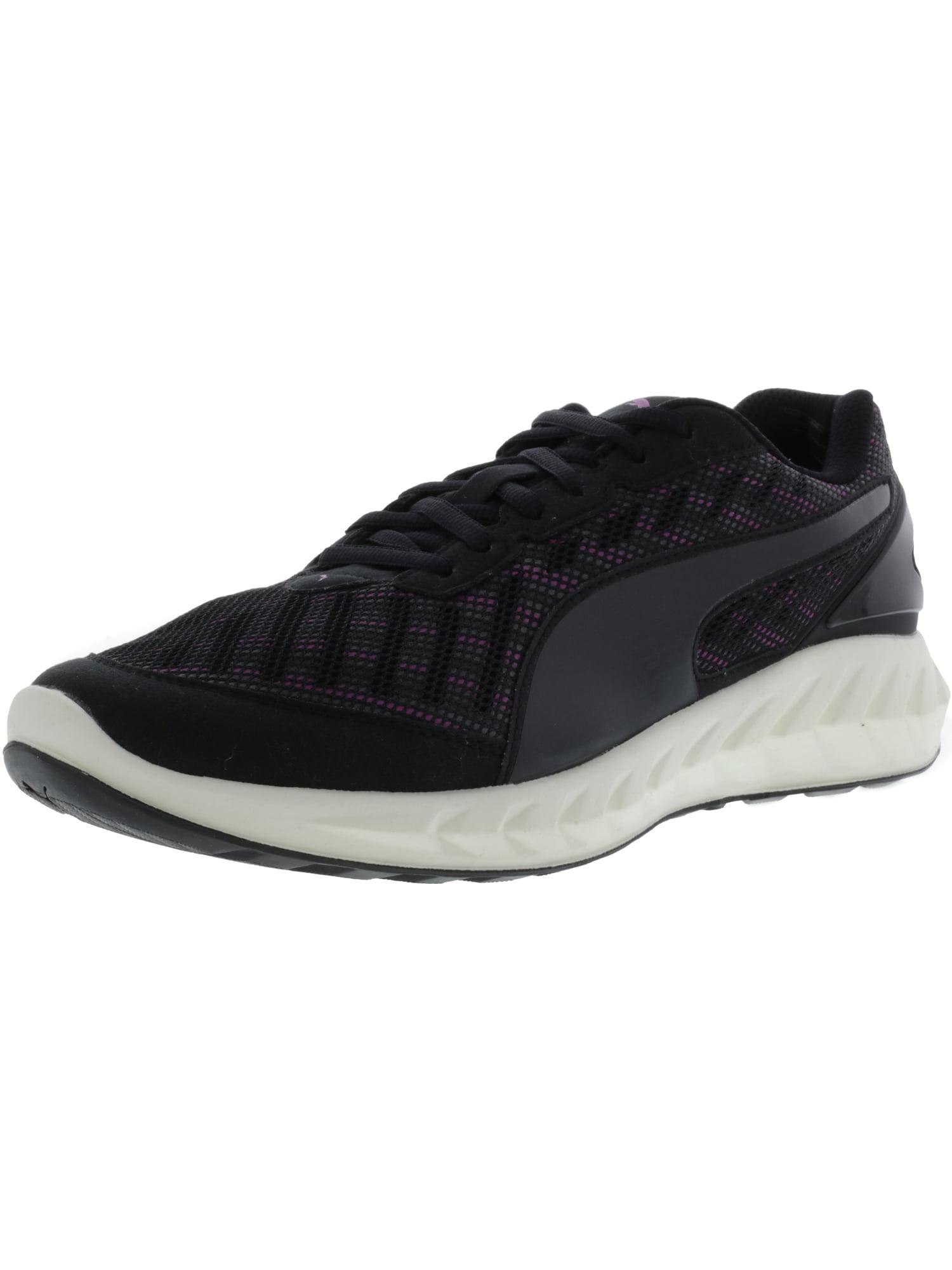 Puma Women's Ignite Ultimate Multi Black Ankle-High Fabric Running Shoe - 9M