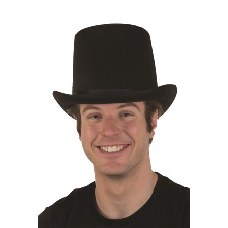 Coachman Victorian Tall Top Hat Steampunk Topper Magician Costume Accessory - Top Hat Costume