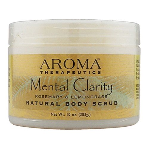 Image of Abra Therapeutics Mental Clarity Body Scrub, Rosemary And Lemongrass - 10 Oz