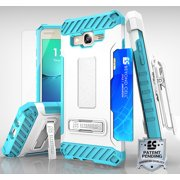 TRI-SHIELD STAND CASE + TEMPERED GLASS + BELT CLIP FOR SAMSUNG GALAXY ON5 G550T