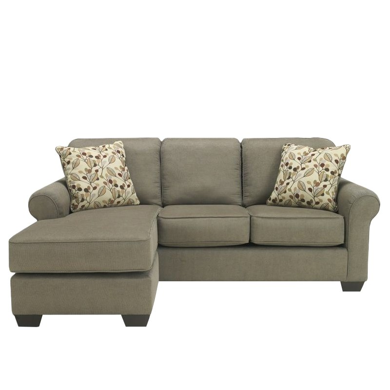 Danely Dusk Living Room Set From Ashley 35500: Ashley Furniture Danely 2 Piece Fabric Sectional In Dusk