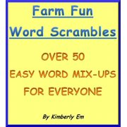 Farm Fun Word Scramble: Over 50 Word Puzzles - eBook
