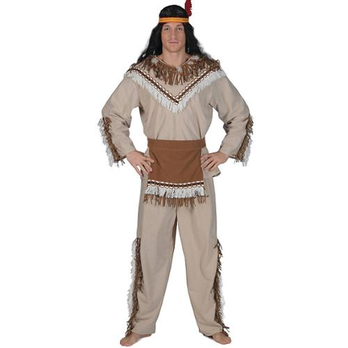 Running Bear Chief Men's Costume - Size L