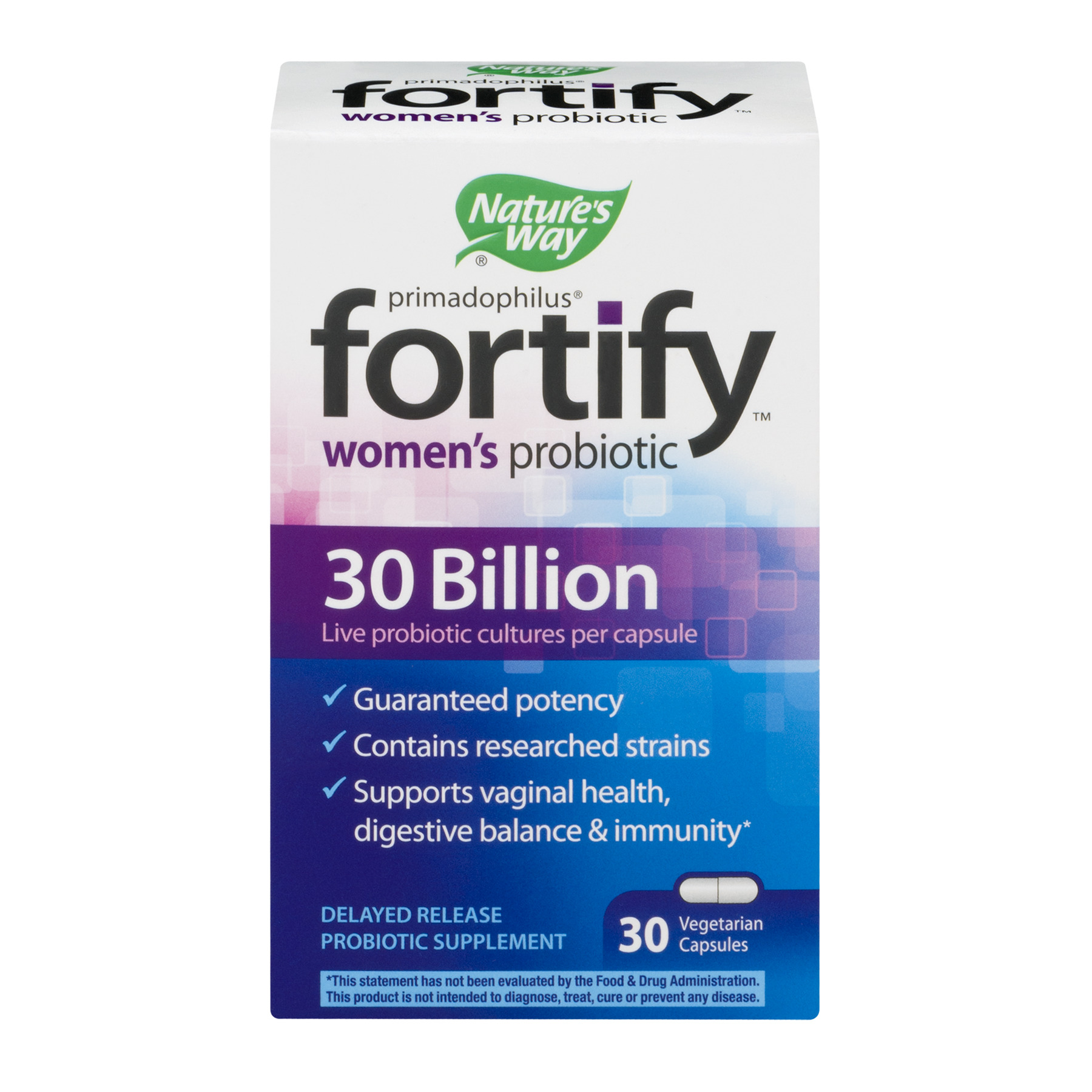 Nature's Way Fortify Primadophilus Women's Probiotic, 30 Ct.