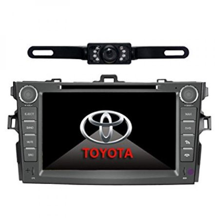 Car Stereo For TOYOTA Corolla (support year 2007 2008 2009 2010) 8 inch Indash CAR DVD Player