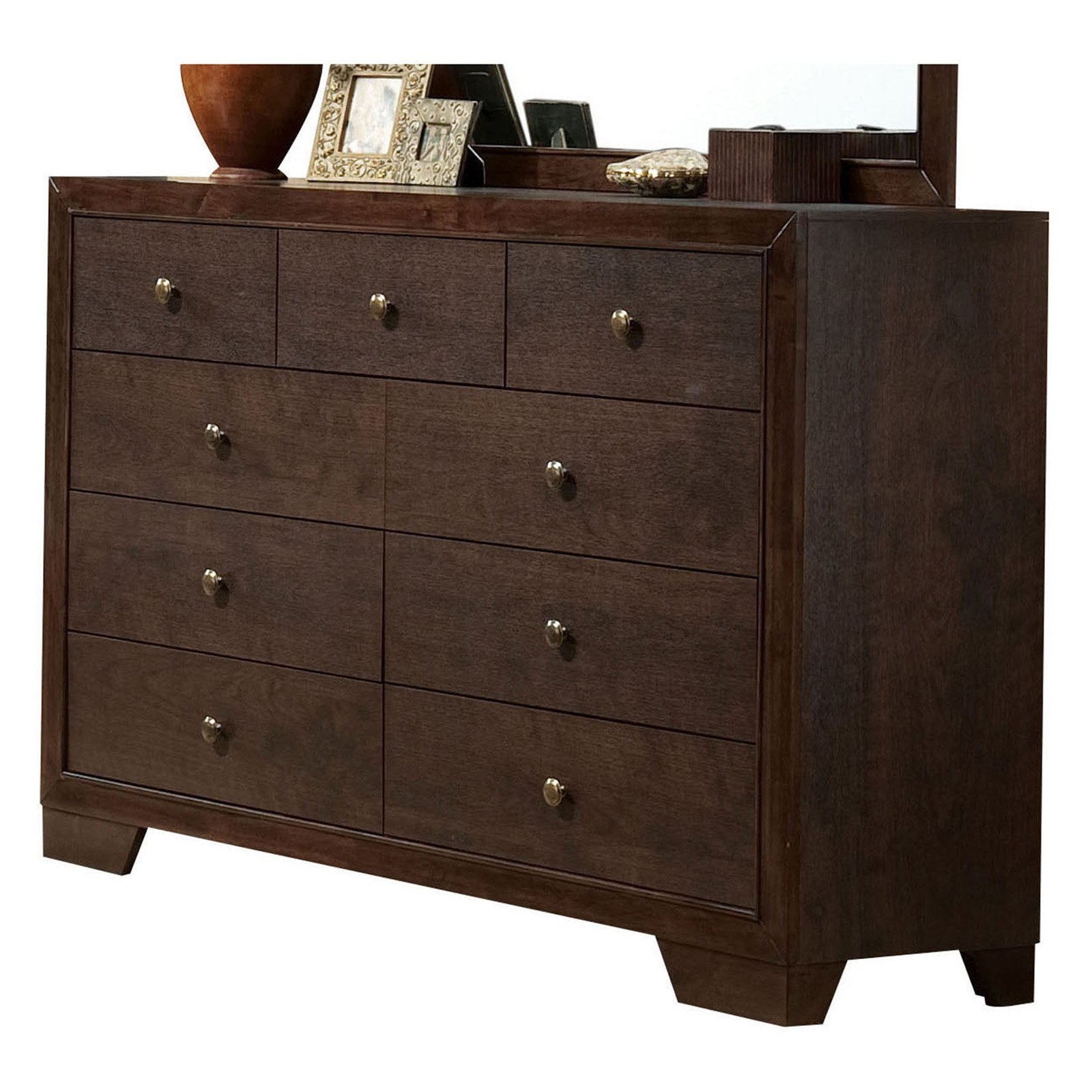 Acme Furniture Madison Espresso Dresser with Nine Drawers