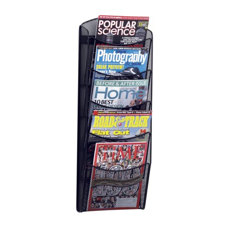 5-Pocket Onyx™ Magazine Rack, -