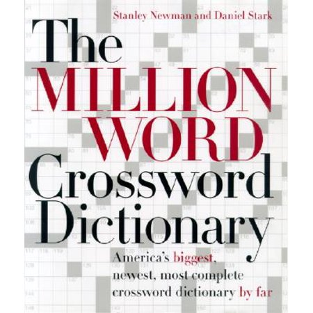The Million Word Crossword Dictionary - Halloween Crossword Word Search Printable