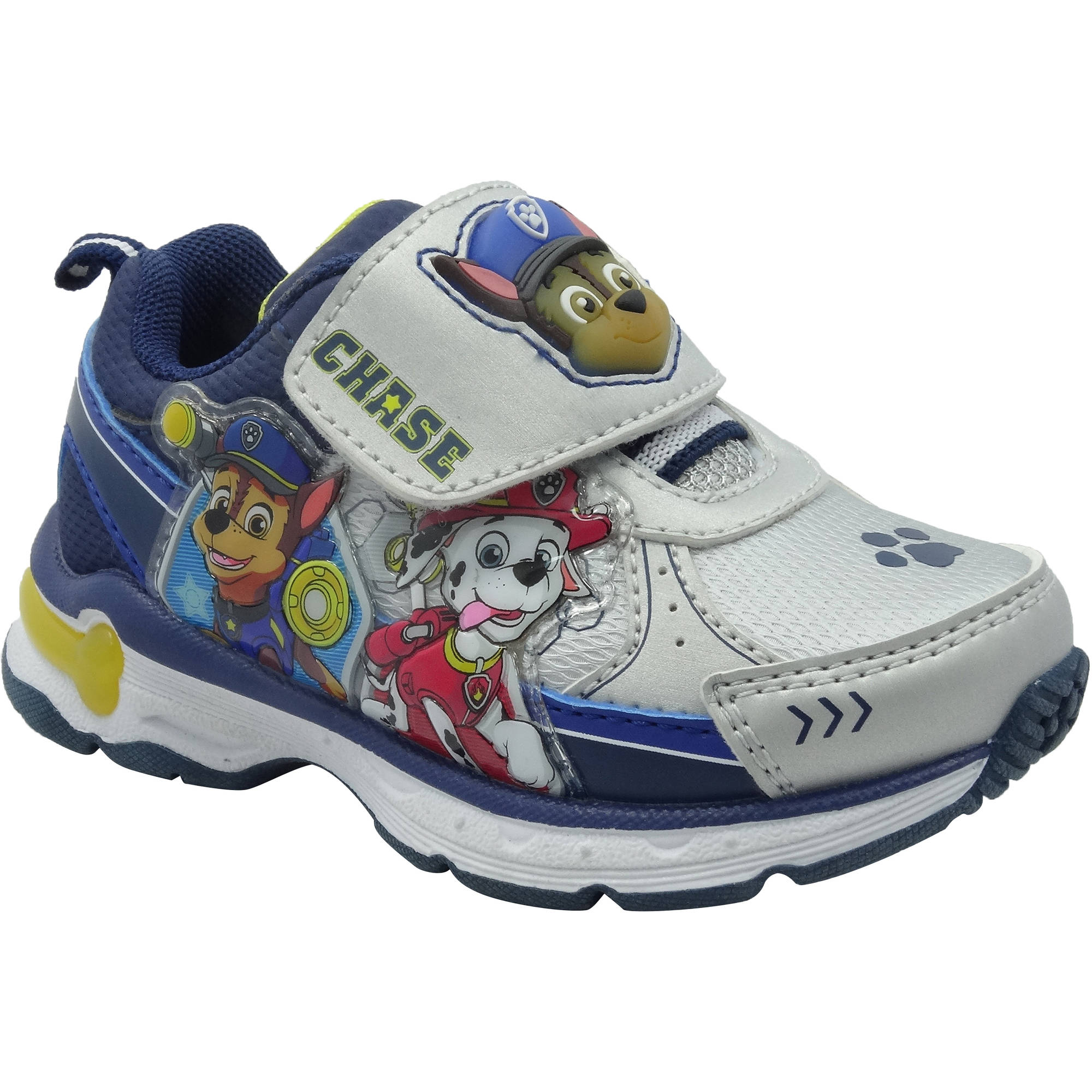 paw patrol toddler boys athletic shoe walmart
