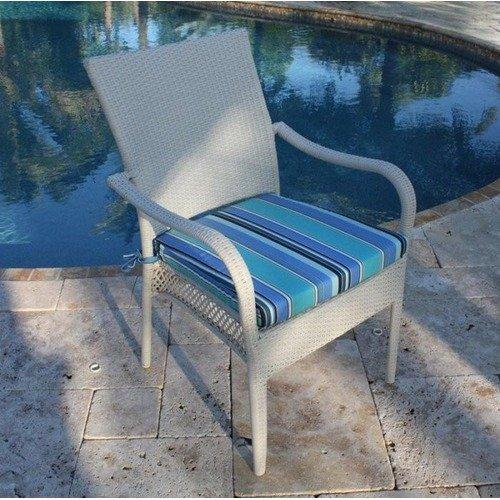 Hospitality Rattan Grenada Patio Dining Arm Chair
