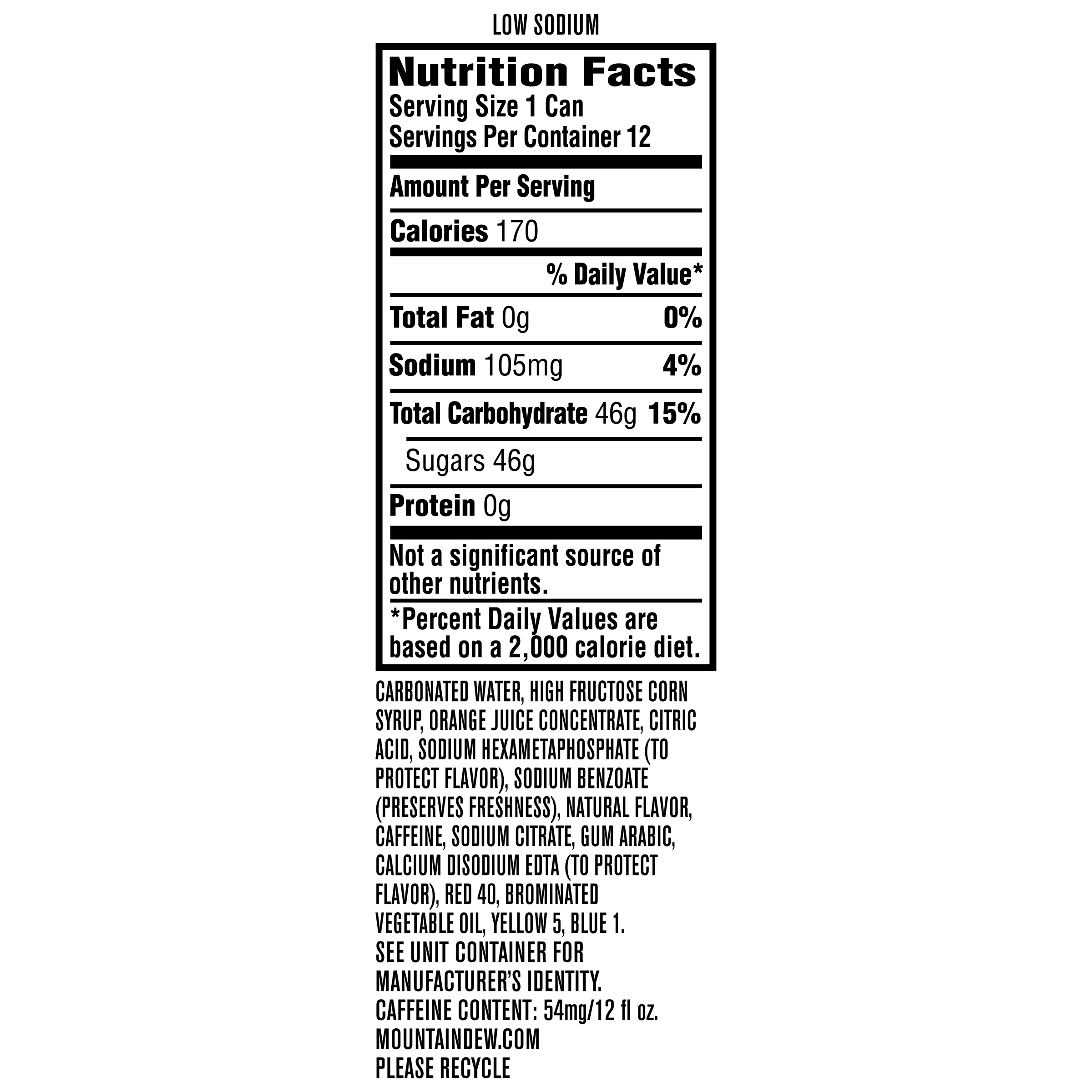 Mountain Dew Code Red Soda 12 Fl Oz 12 Count Walmart Com