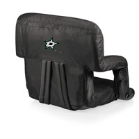 Dallas Stars - Ventura Portable Reclining Stadium Seat - Black