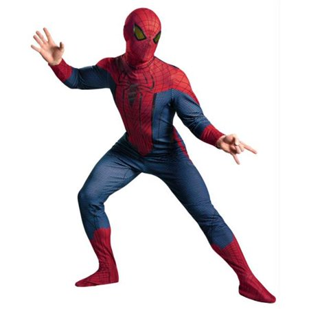 Costumes For All Occasions DG42499C Spider-Man Movie Deluxe Adult - Movie Costumes For Sale