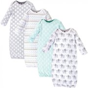 Gowns, 4pk (Baby Boys or Girls Unisex)