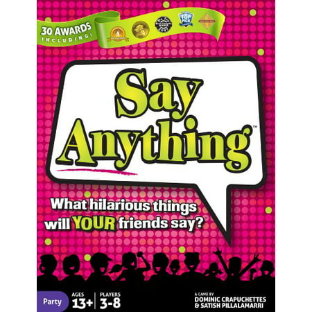 Say Anything Board Game ()