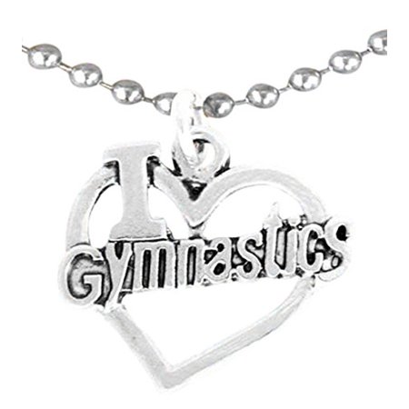 Gymnastic Necklace, Adjustable, Hypoallergenic, Nickel, Lead, & Cadmium -