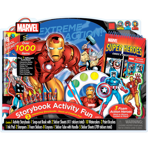 Artistic Studios Disney Giant Activity Collection, Marvel Heroes