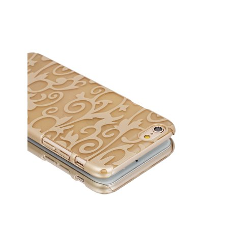 """Gold Tone PVC Ultra Thin Vintage Print Case Cover for iPhone 6 4.7"""" - image 3 of 6"""