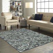 Better Homes And Gardens Distressed Scroll Living Room Area Rug Or Runner