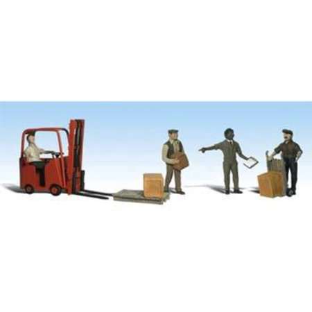 A2192 Workers With Forklift N