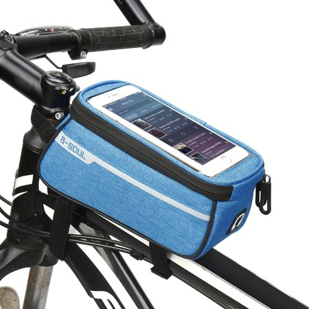 MTB Bicycle Top Tube Phone Bag for 6