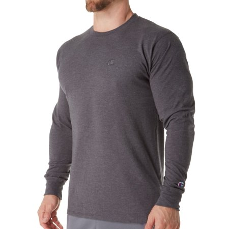 f782bb34 Champion - Champion Men's Classic Jersey Long Sleeve T-Shirt - Walmart.com