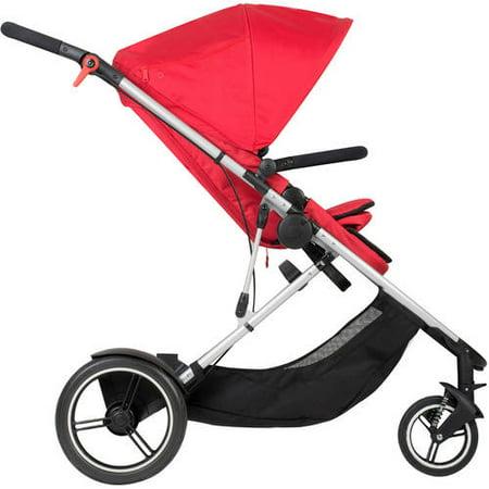 Phil & Teds Voyager Inline Stroller, Red