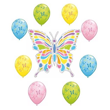 Butterfly Balloon Decoration Kit by Party Supplies - Butterfly Decorations Party