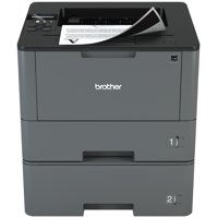 Brother Monochrome Laser Printer, HL-L5200DWT, Duplex Printing, Wireless Networking, Dual Paper Trays, Mobile Printing