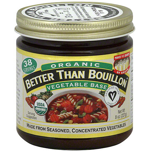 Superior Touch Better Than Bouillon Organic Vegetable Base Broth, 8 oz (Pack of 6)
