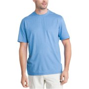 G.H. Bass & Co. Mens Explorer Performance Basic T-Shirt, Blue, Small